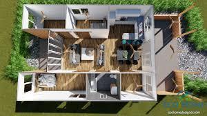 eco home designs sch18 2 x 40ft container home plans eco home designer 40