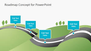road map template powerpoint exol gbabogados co