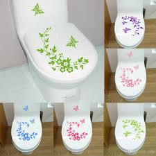 butterfly flower bathroom wall stickers home deocr home decoration see larger image