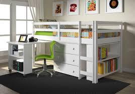 Computer Bed Desk by Ava Kid U0027s Furniture Set With Twin Loft Bed Desk Dresser U0026 Bookcase I
