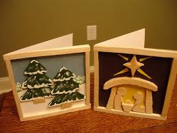 balsa wood christmas cards 8 steps with pictures