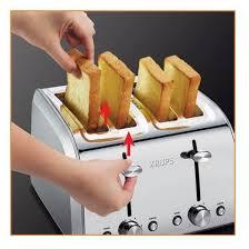 Krups Sandwich Toaster Krups 4 Slice Toaster Stainless Target