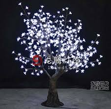 lighted led bonsai tree white indoor blossom tree buy lighted
