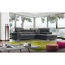 canapé d angle imitation cuir canapé d angle simili cuir meubles thiry