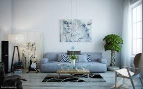 light blue design living rooms house decor picture