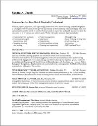 Best Resume Sample Project Manager by Career Change Resume Sample Berathen Com