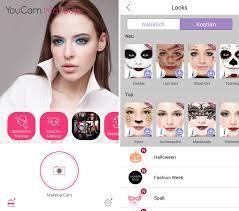 youcam makeup kosmetiktasche android app