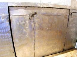 meuble cuisine en aluminium cuisine en aluminium poncé galerie decarts