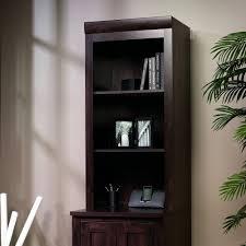 Sauder 5 Shelf Bookcase by Amazon Com Sauder Office Port Hutch Base Not Included In Dark