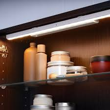 battery operated led lights for kitchen cabinets stötta led cabinet lighting w sensor battery operated