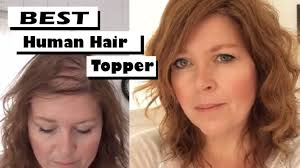 best human toppers u0026 hairpieces for fine thinning one