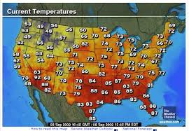 weather usa map monthly average temperatures weathercom total solar eclipse