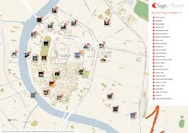 bangkok map tourist attractions about bts bangkok thailand airport map complete tourist