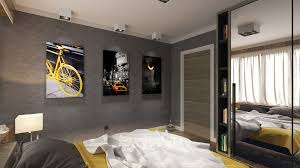 Mens Bedroom Ideas Bedroom Fascinating Modern Masculine Bedroom Decoration With