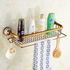 Bathroom Shelves With Towel Rack by Three Tier Bathroom Shelf Copper Bathroom Corner Basket Bathroom
