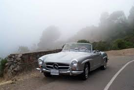 classic mercedes convertible hit car austin of england classic cars