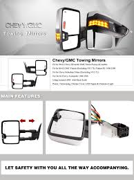 amazon com yitamotor towing mirrors for 99 02 chevy silverado