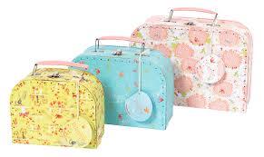 moulin roty meuble set de 3 valises ma poupée moulin roty jeujouet com