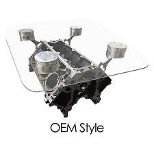 How To Make An Engine Block Coffee Table - engine table ebay