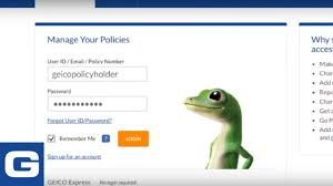 manage your policy on geico com geico insurance