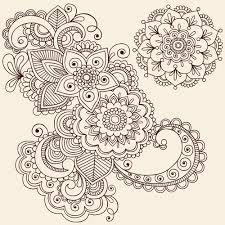 vector graphic flower ornaments pattern 03 welovesolo