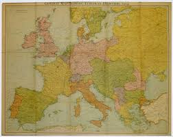 Map Of Central Europe by The