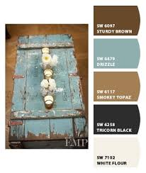 like this shade of blue with brown paint colors from chip it by