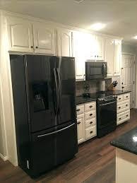 black kitchen appliances ideas kitchen with black appliances plavi grad