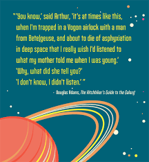 the 10 best quotes from the hitchhiker s guide to the galaxy