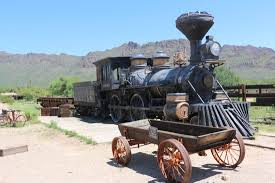 old reno train used in many movies was damaged by a fire many