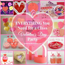 school valentines everything you need for a class s day party