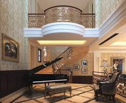 Luxury Livingroom Luxury Living Room With Posh Wall Decor 3d Model Max