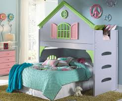blue shade laminated particle wood little bunk beds using