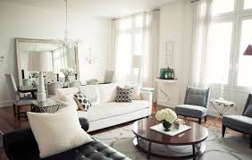 White Chairs For Living Room Brown Lacquered Block Board Dining Table Living Room Dining Room