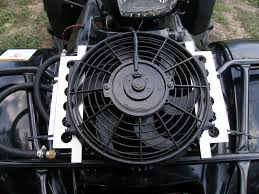 oil cooler with fan 450s 2nd oil cooler and fan toggle page 3 honda foreman forums