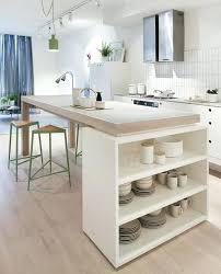 tables hautes de cuisine table haute cuisine avec rangement cuisine blanche avec arlot