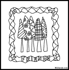 book coloring pages trees hop funky tree coloring