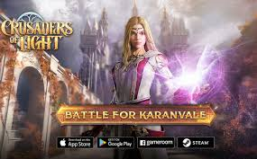 crusaders of light mmorpg mmorpg crusaders of light launches battle for karanvale content
