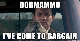 Groundhog Meme - i need a dr strange groundhog day mashup