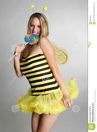 Bumble Bee Halloween Costume Bumblebee Halloween Costume Royalty Free Stock Photography Image