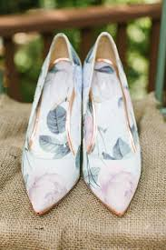 wedding shoes ideas 32 floral wedding shoes ideas for and summer nuptials