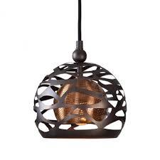 Uttermost Pendant Lights by Uttermost Parth 1 Light Bronze Mini Pendant 9tx5w Garbe U0027s