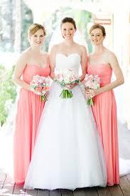cheap bridesmaid dresses coral color wedding short dresses