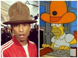 Pharrell Meme - pharrell williams homer simpson pharrell williams hat know your