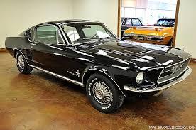 67 Mustang Black Plenty Of Pony Cars