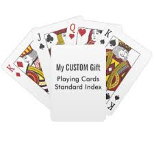 design template playing cards zazzle