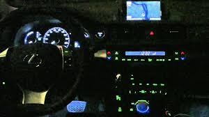 youtube lexus navigation system lexus ct200h interior night mode hd youtube