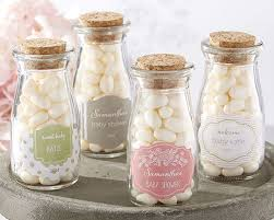 personalized baby shower favors personalized milk jar rustic baby shower favor containers by