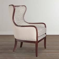 puzzle pattern accent chair