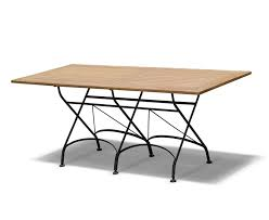 Rectangular Bistro Table Rectangular Folding Bistro Table 1 8m Teak